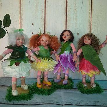 Dolls & toys handmade. Livemaster - original item Interior doll :