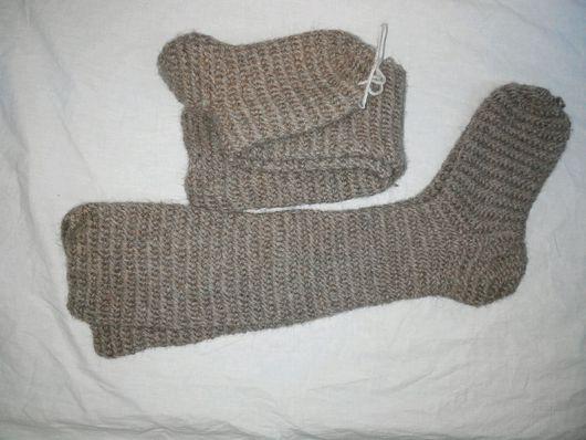 Этническая одежда ручной работы. Ярмарка Мастеров - ручная работа. Купить Гольфы гетры вязанные одной иглой. Handmade. Однотонный
