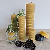 Свечи ручной работы. Ярмарка Мастеров - ручная работа Свечи из ароматной вощины.. Handmade.