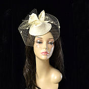 Аксессуары handmade. Livemaster - original item Hat with veil