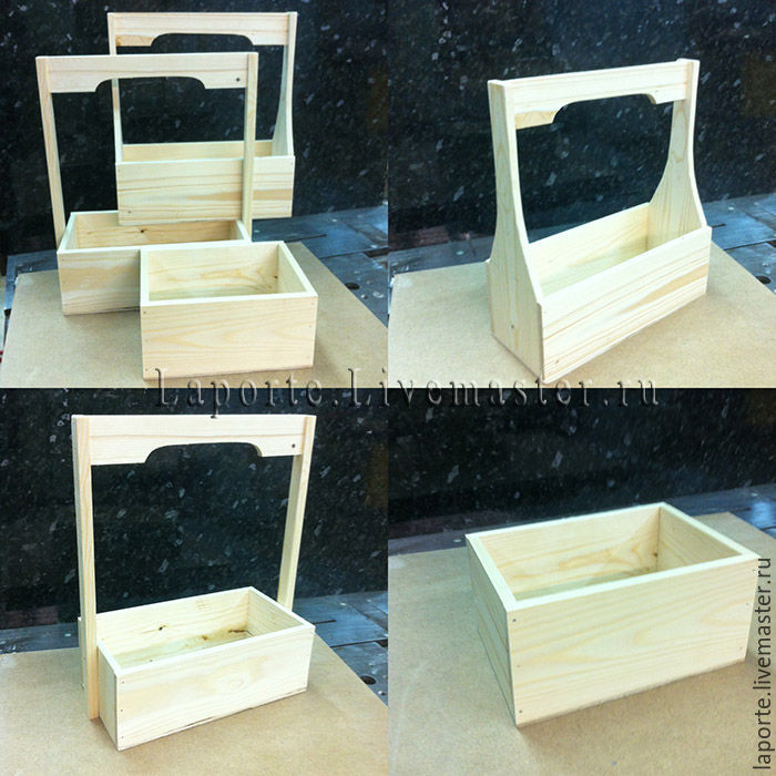 ящик цветов деревянный фото для