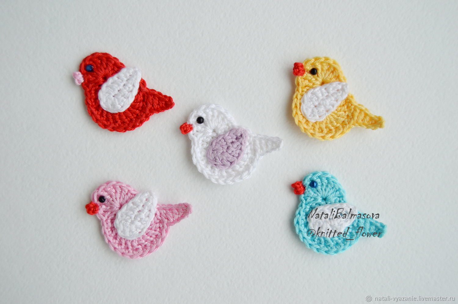 Bird Applique Crochet Shop Online On Livemaster With Shipping