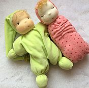 Вальдорфские куклы и звери ручной работы. Ярмарка Мастеров - ручная работа кукла-бабочка. Handmade.