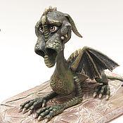 Куклы и игрушки ручной работы. Ярмарка Мастеров - ручная работа Дракон Джеральд. Handmade.