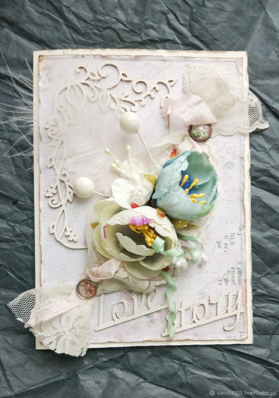 Открытка венчание и свадьба, надписями