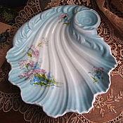 Винтаж handmade. Livemaster - original item Your Dish, shell, antique porcelain, Gardner, skol. Handmade.
