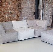 Для дома и интерьера ручной работы. Ярмарка Мастеров - ручная работа Модульный диван с двумя угловыми модулями. Handmade.