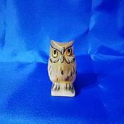 Для дома и интерьера handmade. Livemaster - original item The owl is made of natural Ural ornamental stones Selenite.. Handmade.