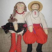 Куклы и игрушки ручной работы. Ярмарка Мастеров - ручная работа украинские парень и девушка. Handmade.