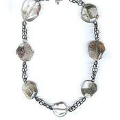 Украшения handmade. Livemaster - original item Beads - rhinestone - 58 cm. Handmade.
