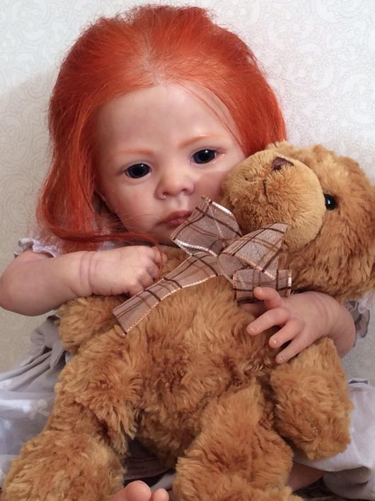 Куклы-младенцы и reborn ручной работы. Ярмарка Мастеров - ручная работа. Купить Малышка Айра. Handmade. Кукла ручной работы