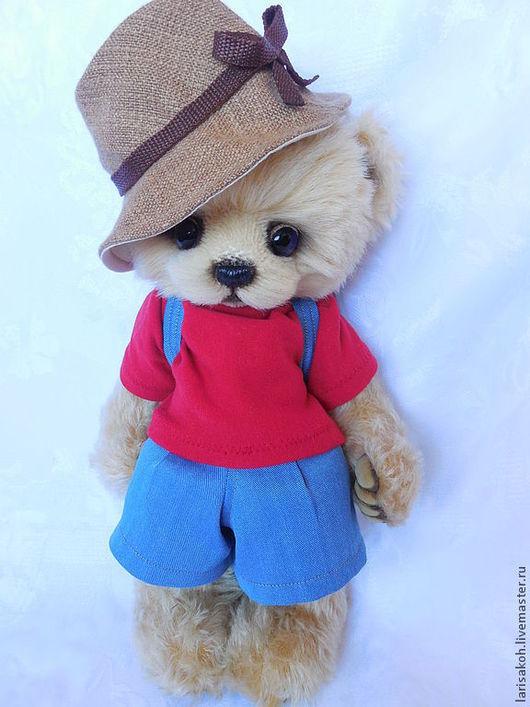 Мишки Тедди ручной работы. Ярмарка Мастеров - ручная работа. Купить Мишка -Амина.. Handmade. Желтый, медведь тедди