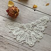 Материалы для творчества handmade. Livemaster - original item Insert for clothing decoration lace. Handmade.
