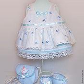 Куклы и игрушки ручной работы. Ярмарка Мастеров - ручная работа комплект одежды для вальдорфской куклы. Handmade.