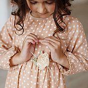 Работы для детей, ручной работы. Ярмарка Мастеров - ручная работа Брошь-розочка. Коллекция MARUSSIA. Handmade.