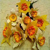 Цветы и флористика ручной работы. Ярмарка Мастеров - ручная работа Нарцисы.. Handmade.