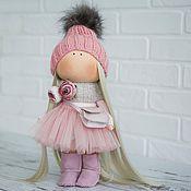 Обучающие материалы ручной работы. Ярмарка Мастеров - ручная работа МК + выкройка куколки. Handmade.