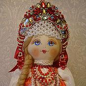 Народная кукла ручной работы. Ярмарка Мастеров - ручная работа Кукла знатного рода в русском народом стиле  Лизавета. Handmade.