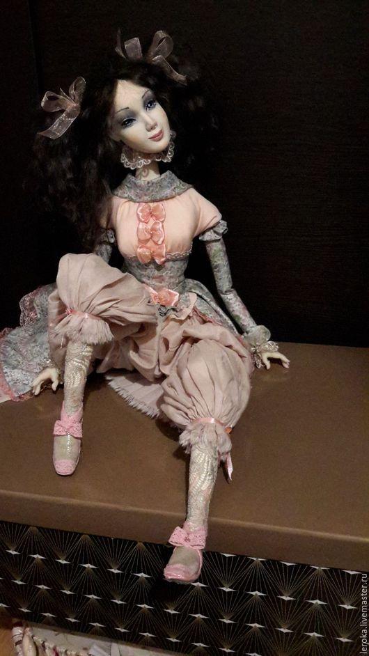 """Коллекционные куклы ручной работы. Ярмарка Мастеров - ручная работа. Купить Эльфийка""""Эльвен"""". Handmade. Комбинированный, японский хлопок, цветной, нежность"""