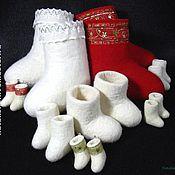 Куклы и игрушки ручной работы. Ярмарка Мастеров - ручная работа Валенки, мелко-валенки, микроваленки. Handmade.