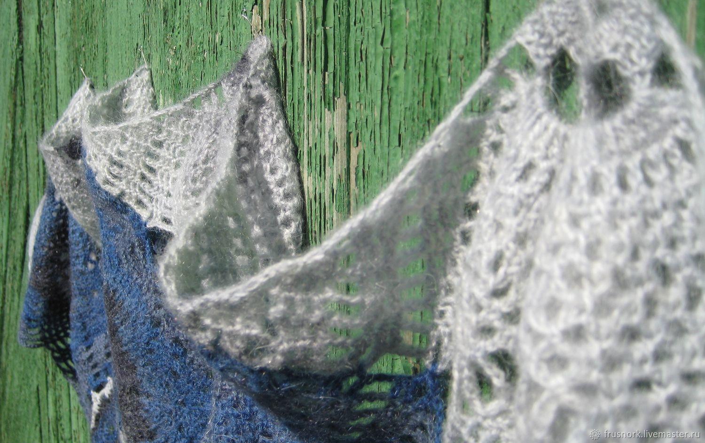 самца серовато-охристая мохеровые шали крючком фото два года самом