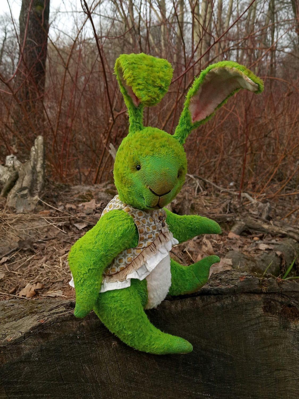 Заяц тедди Яся, игрушка тедди, зайка, Мишки Тедди, Санкт-Петербург,  Фото №1
