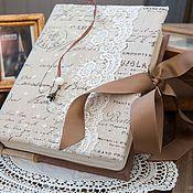 """Блокноты ручной работы. Ярмарка Мастеров - ручная работа Блокнот """"Окно в Париж"""". Handmade."""