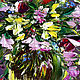 Order Oil painting wild flowers. Zabaikalie. Livemaster. . Pictures Фото №3