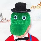 Работы для детей, ручной работы. Ярмарка Мастеров - ручная работа Крокодил Гена. Handmade.