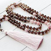 Фен-шуй и эзотерика handmade. Livemaster - original item Rosary of Rauchtopaz on 108 stones. Handmade.