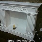 Для дома и интерьера ручной работы. Ярмарка Мастеров - ручная работа Камин декоративный. Handmade.