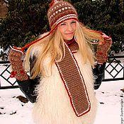 Аксессуары handmade. Livemaster - original item Hat female winter