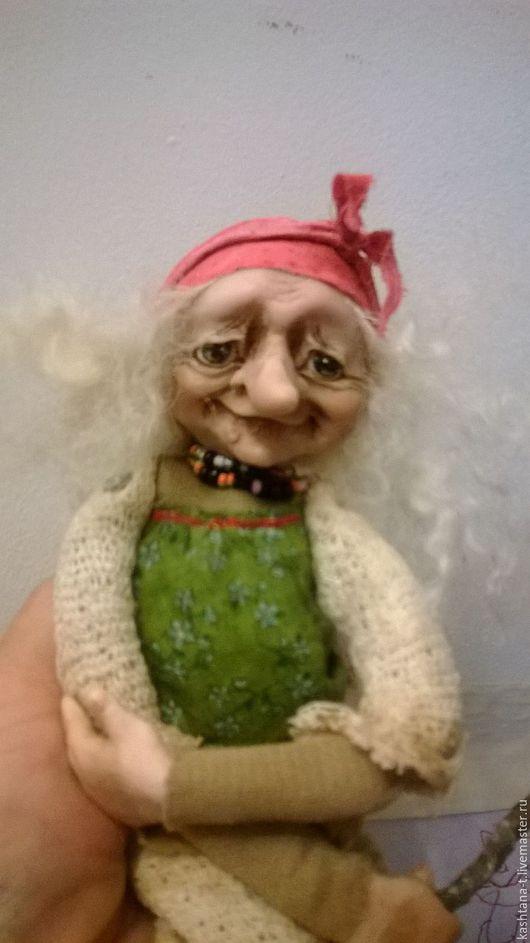 """Сказочные персонажи ручной работы. Ярмарка Мастеров - ручная работа. Купить Куколка """"Ягуля для маленькой девочки из Сочи"""". Handmade. Комбинированный"""