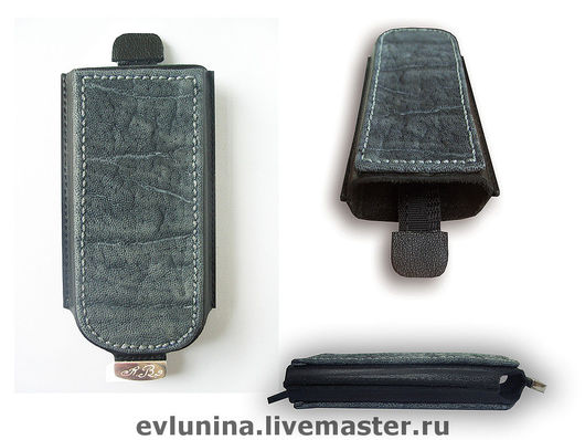 """Для телефонов ручной работы. Ярмарка Мастеров - ручная работа. Купить Чехлы для телефонов """"Сафари"""". Handmade. Чехлы, темно-серый"""