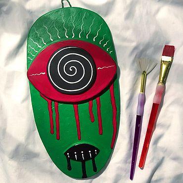 Для дома и интерьера ручной работы. Ярмарка Мастеров - ручная работа Декоративная, настенная маска ручной работы. Handmade.
