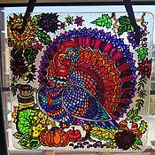 Для дома и интерьера handmade. Livemaster - original item Suncatcher, panel. Handmade.
