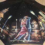 Аксессуары ручной работы. Ярмарка Мастеров - ручная работа Зонт с росписью - Танго. Handmade.
