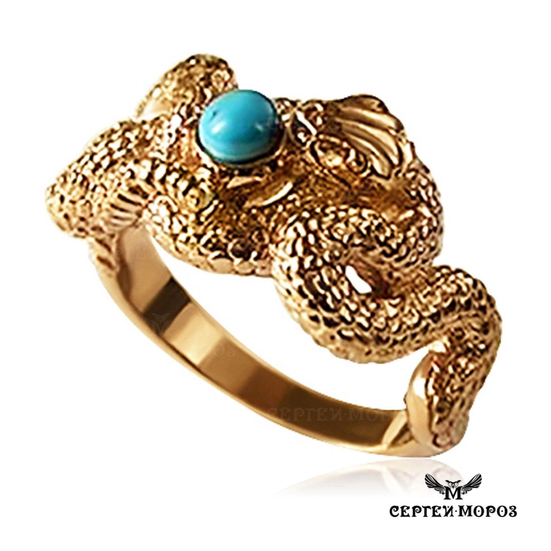 Золотое кольцо Змея, Кольца, Москва, Фото №1