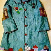 Одежда handmade. Livemaster - original item Coat linen