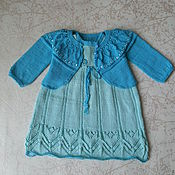 Одежда ручной работы. Ярмарка Мастеров - ручная работа Комплект для девочки 1-1,5года. Handmade.