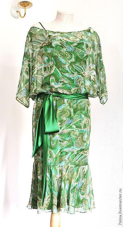 Летние платья из шелка и шифона