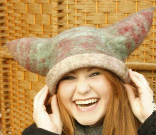 Шапки ручной работы. Ярмарка Мастеров - ручная работа. Купить валяная  шапка-Викинг. Handmade. Необычный подарок, валеная шапка
