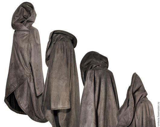 Верхняя одежда ручной работы. Ярмарка Мастеров - ручная работа. Купить Пальто зимнее с капюшоном #mimicry. Handmade. Зимнее пальто