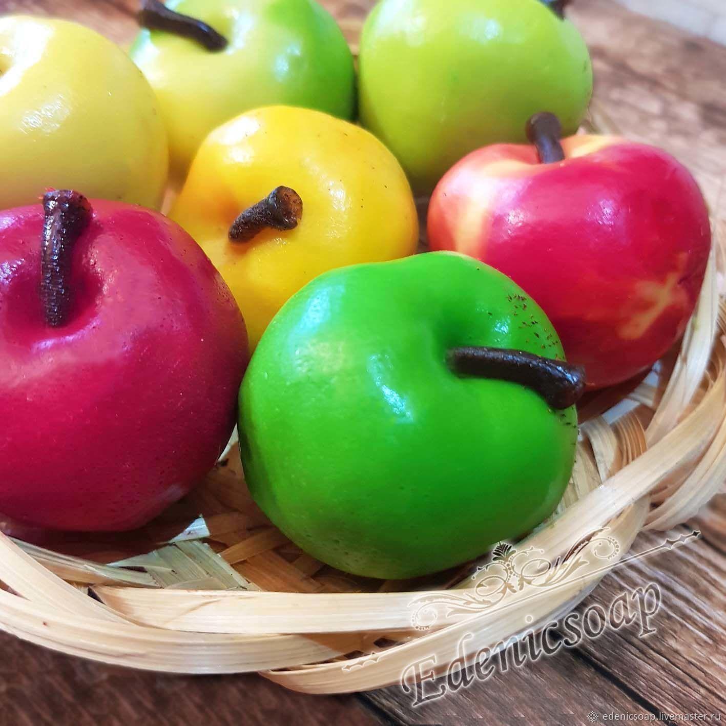 'Paradise Apple' soap souvenir fruit gift to children, Soap, Moscow,  Фото №1