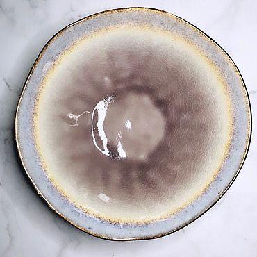 Посуда ручной работы. Ярмарка Мастеров - ручная работа Блюдо керамическое глубокое 1500 мл, 24 см. Handmade.