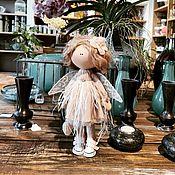 Куклы и игрушки handmade. Livemaster - original item Doll: Angel dusty rose Textile doll handmade. Handmade.
