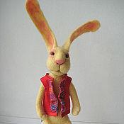 Куклы и игрушки ручной работы. Ярмарка Мастеров - ручная работа Кролик цвета шампанского. Handmade.