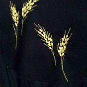 Рубашки ручной работы. Ярмарка Мастеров - ручная работа Рубашка с вьlшивкой `из льна. Handmade.