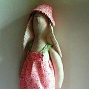Куклы и игрушки ручной работы. Ярмарка Мастеров - ручная работа зайчиха в стиле Тильда. Handmade.