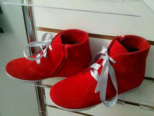 Детская обувь ручной работы. Ярмарка Мастеров - ручная работа. Купить Ботиночки детские. Handmade. Обувь ручной работы, мокасины